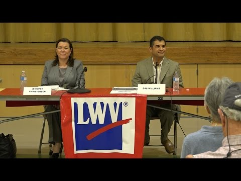 1st District Supervisor S.B. County Forum - ENGLISH LANGUAGE