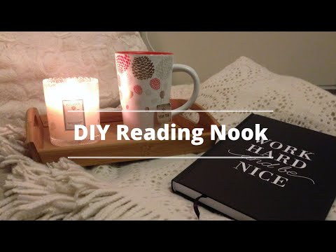 DIY Cozy Reading Nook