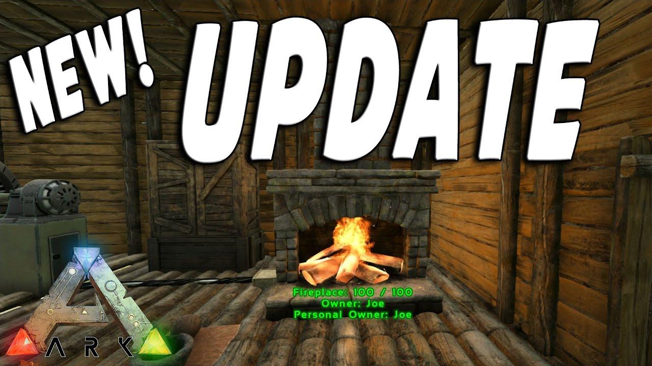 ARK Survival Evolved: New Update: Patch v227 Primitive Cage, Stone ...
