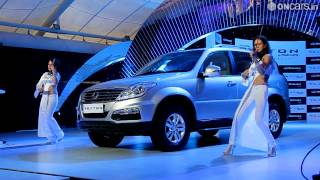 Unveiling of the Ssangyong Rexton W in India