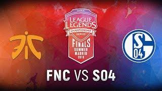 Video FNC vs. S04 - Finals Game 1 | EU LCS Summer Finals | Fnatic vs. FC Schalke 04 (2018) download MP3, 3GP, MP4, WEBM, AVI, FLV September 2018