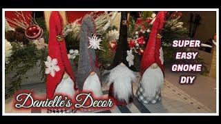 Easy Christmas Gnome DIY!