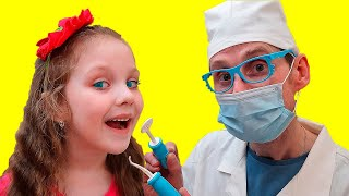 Going To The Dentist Song | Pretend Play Sing-Along to Nursery Rhymes Kids Songs