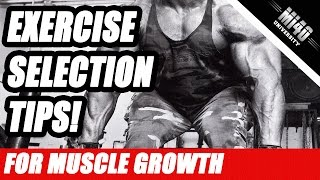 How to Choose the Best Muscle Building Exercises For Muscle Size and Growth