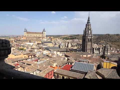 Travel to Toledo, Spain - Landscape of Toledo at Monasterio de Santo Domingo el Antiguo