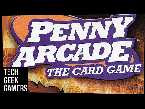 Let's Play Penny Arcade The Card Game - A board game play through