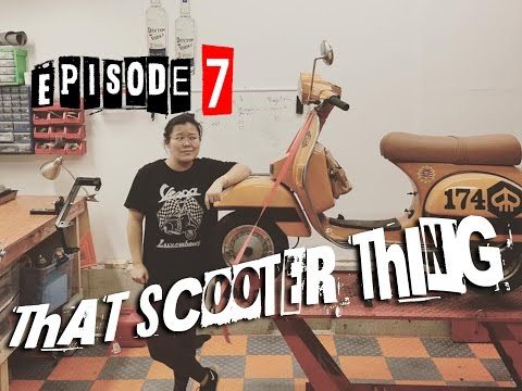 That Scooter Thing Ep. 7 -  Vespa / Stella / LML Star 150 Polini 177 to 187 engine tear-down motor