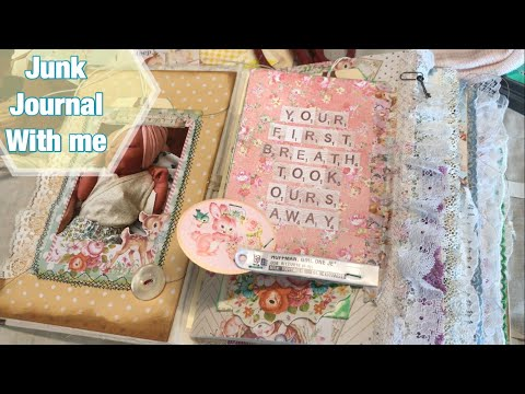 Junk Journal With Me / Baby Book / Memory Keeping