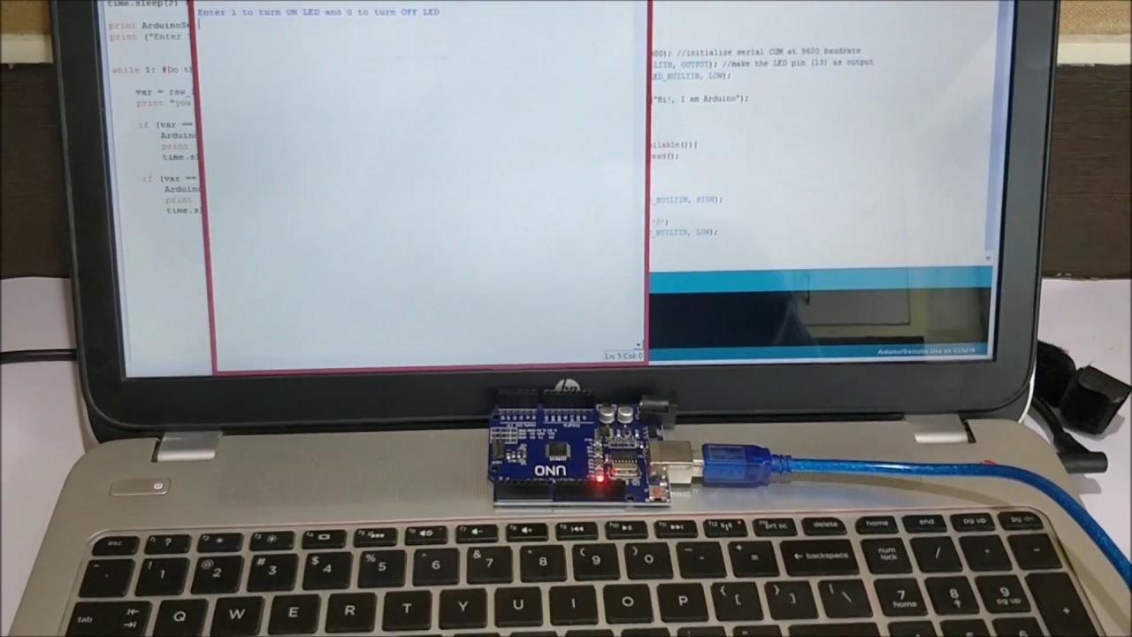 Arduino Python Tutorial - Using Python with Arduino