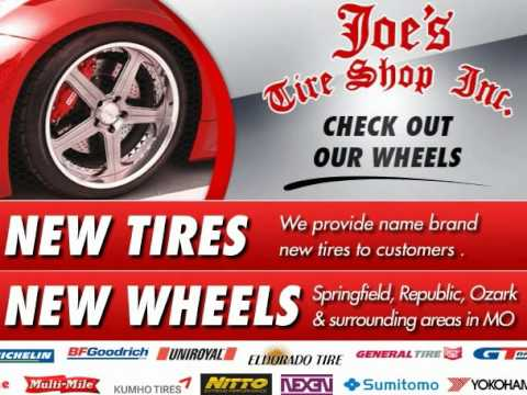 Joes Tire Shop Of Springfield Mo Youtube