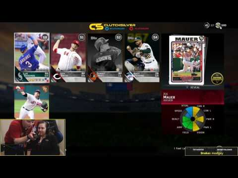 THE GIRL FRIEND PACKS Flashback JOE MAUER-MLB 16 The Show