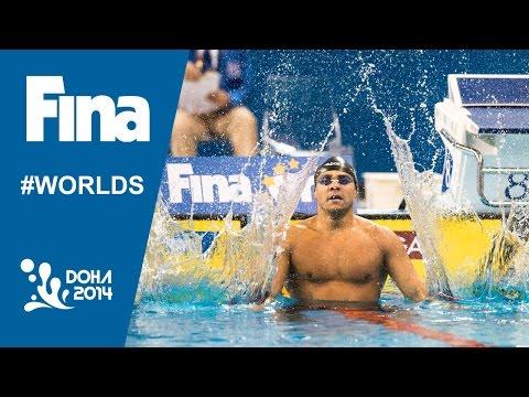 Felipe Franca Silva | Interview (100m Breaststroke) | 2014 FINA World Swimming Championships Doha