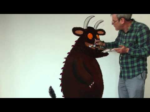 Gruffalo World - Axel Scheffler paints the Gruffalo