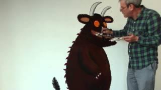 Gruffalo World - Axel Scheffler paints the Gruffalo