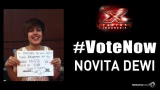 NOVITA DEWI - Video Message - X Factor Indonesia