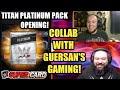 Noology Collab With Guersan's Gaming! WWE SuperCard Season 4! Titan Platinum Pack Opening! Pro??