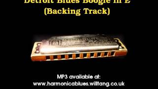 Backing Track - Detroit Blues Boogie in E