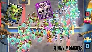 ULTIMATE Clash Royale Funny Moments , Glitches, Fails, Trolls Monthly Review #7
