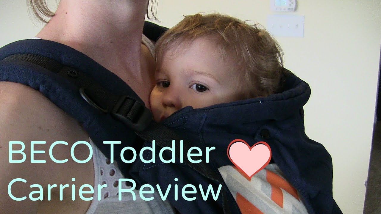 d0219ccc702 BECO Toddler Carrier Review - YouTube