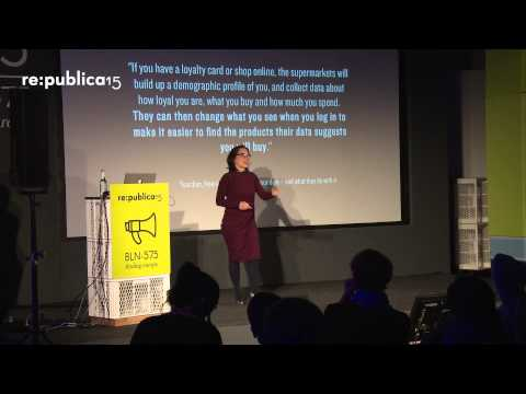 re:publica 2015 – Katarzyna Szymielewicz: Who is more real: me or my digital profile? on YouTube