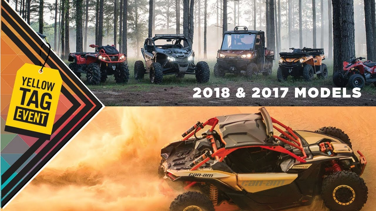 Rebates Up To 3 500 Can Am Yellow Tag Event