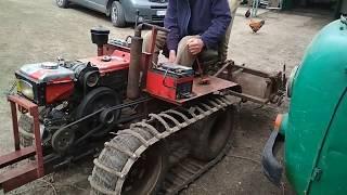 як зробити саморобний гусеничний трактор