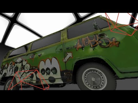 3D Scanning An Iconic VW Vehicle: The Hippe Bus With Process Overview