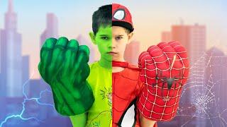SUPERHERO kid in REAL LIFE. (Parody)