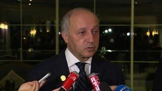 Fabius défend la poursuite des frappes en Syrie