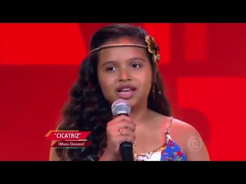 Júlia Ferreira canta 'Cicatriz' no The Voice Kids - Audições|1ª Temporada