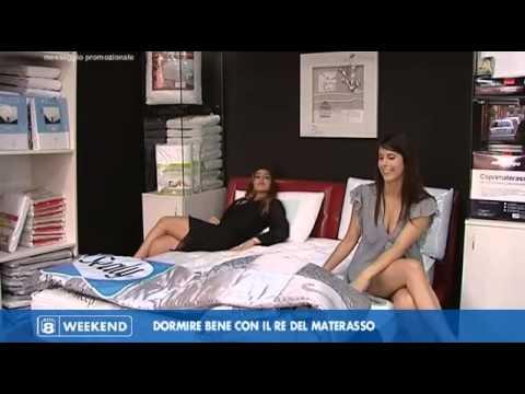 Il Re Del Materasso Montesilvano.Rete8 Weekend Dormire Bene Con Il Re Del Materasso Youtube