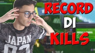 HO FATTO IL MIO RECORD DI KILLS SU FORTNITE!!! *assurdo*