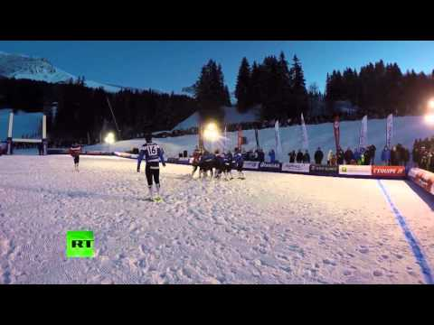 Meteorite falls near French resort during rugby game