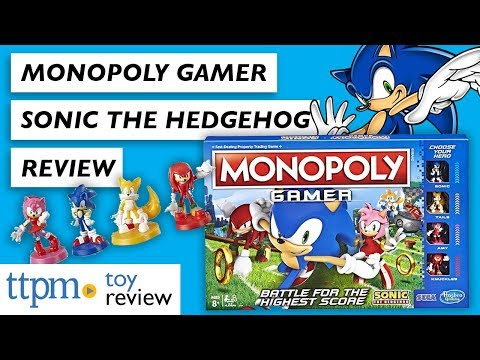 Monopoly Gamer Sonic The Hedgehog From Hasbro Gaming