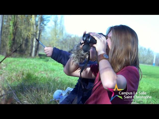Observation des oiseaux avec les BTSA GPN