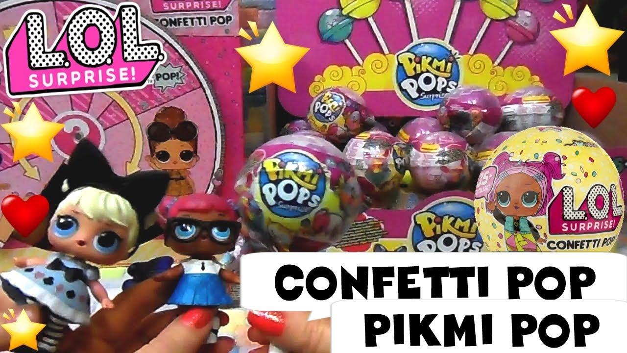 divideremo LOL vuota sfere serie 1,2,3 confetti POPS Gold Rare Lil Sis troppo