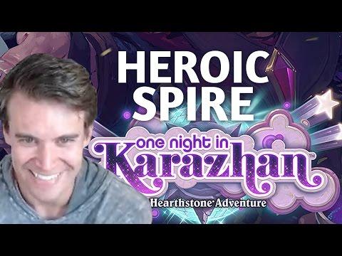(Hearthstone) Heroic Karazhan: The Spire