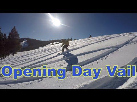 Vail Opening Day 2018 Snowboarding - (Season 3, Day 22) #snowbaording #skiing #epicpass #vail