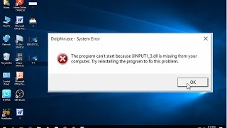 Gambar cover How to Fix Xinput1_3.dll is Missing error In Windows 10/8.1/7 (Easy)