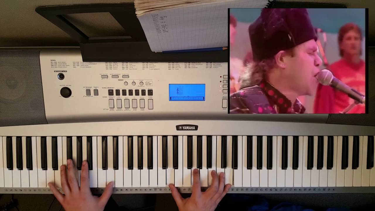 how to play bennie and the jets on piano