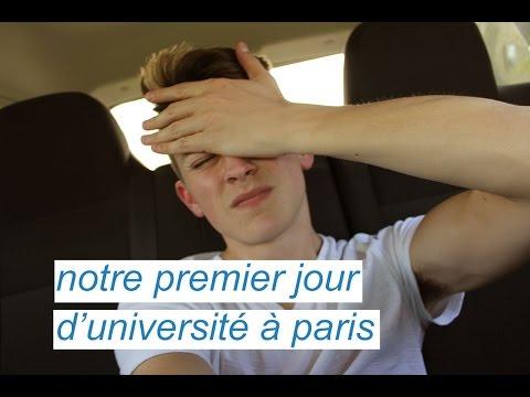 NOTRE PREMIER JOUR D'UNIVERSITÉ À PARIS | DamonAndJo