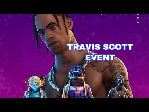 Travis Scott FULL EVENT !