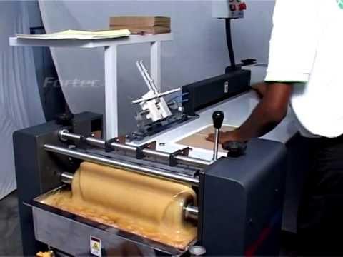 Case Binding Fortec 600.(casemaking Machine)