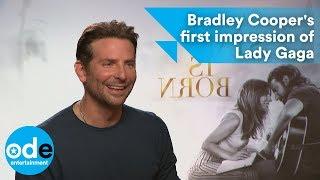 Baixar A STAR IS BORN: Bradley Cooper's first impression of Lady Gaga
