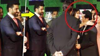 Shocking!! abhishek bachchan's angry reaction as aishwarya rai hugs sachin tendulkar