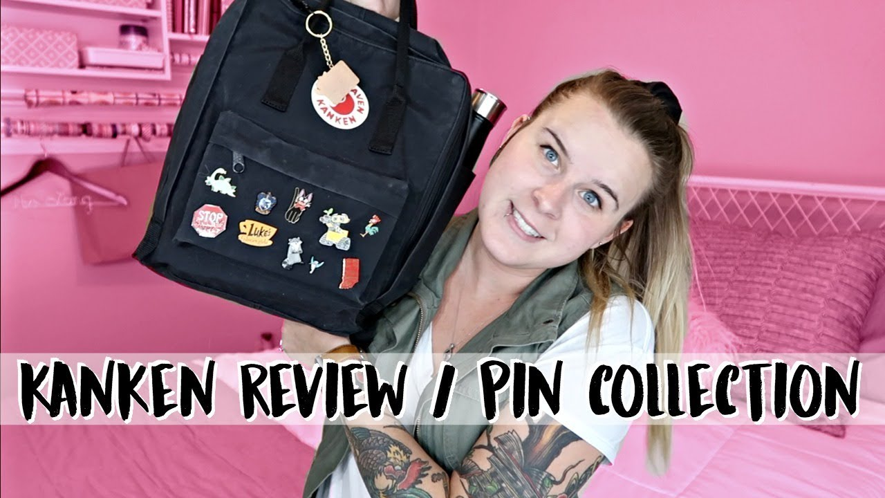 WHAT'S IN MY FJALLRAVEN KANKEN // ENAMEL PIN COLLECTION
