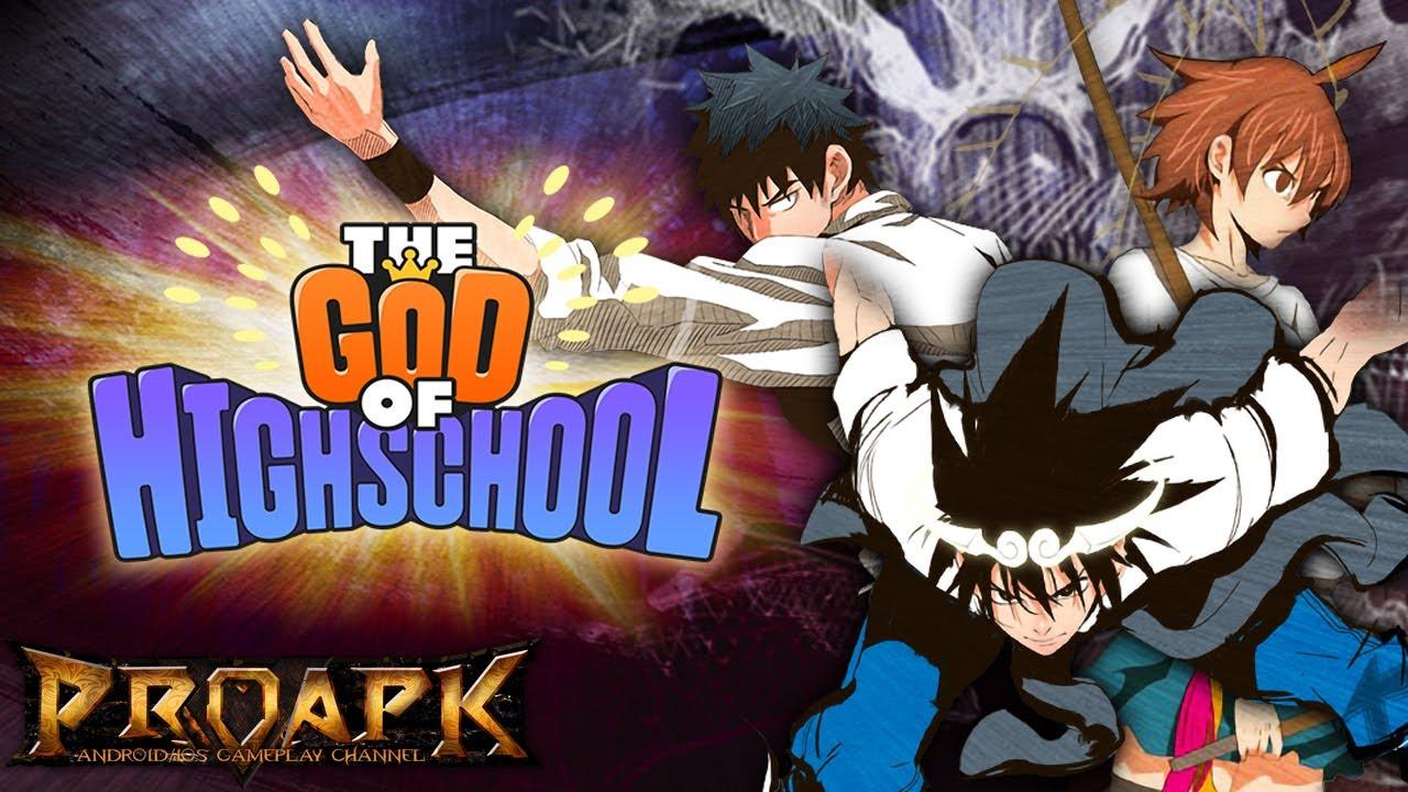 GOD OF HIGHSCHOOL English Gameplay Android / iOS