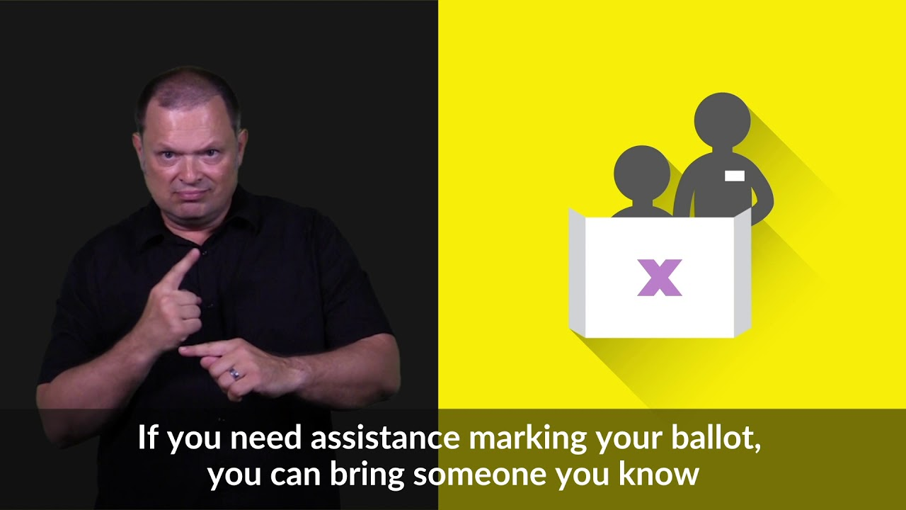 Voting Tools And Services Asl Elections Canada Youtube
