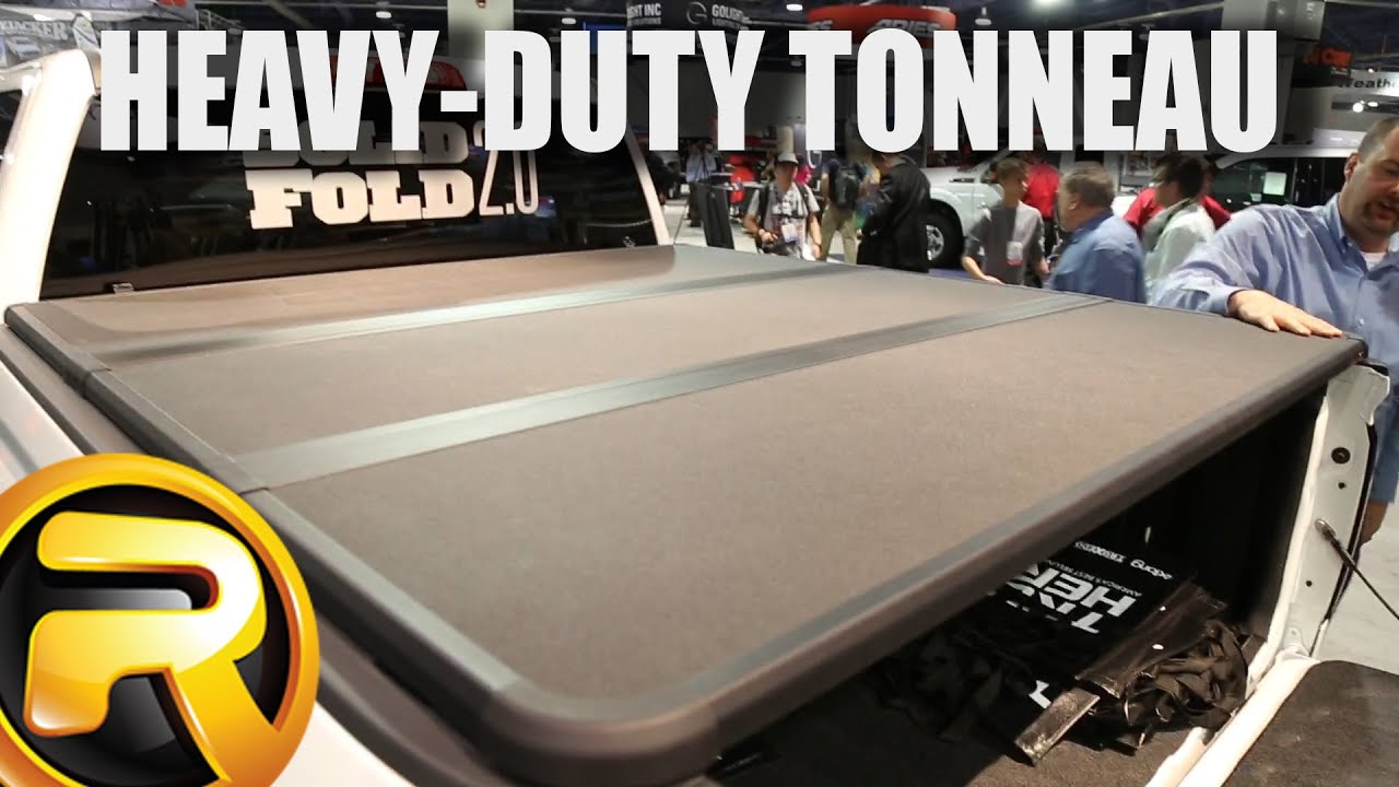 Extang Solid Fold 2 0 Tonneau Cover At Sema Youtube