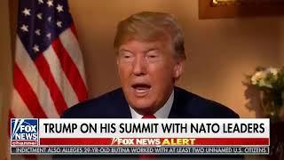Interview: Sean Hannity Interviews Donald Trump in Helsinki - July 16, 2018